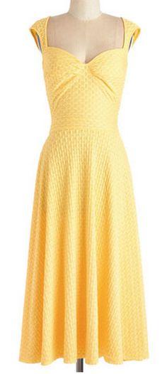 sweet bright yellow dress http://rstyle.me/n/wp3u6pdpe