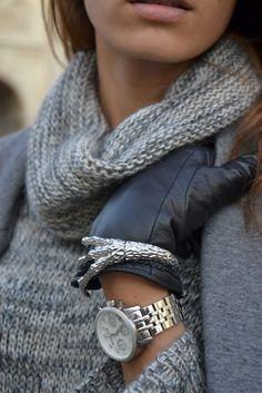 Love the grey and silver - ZsaZsa Bellagio
