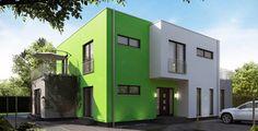 massa haus Ausbauhaus - Fertighaus conceptLINE - Haus CUBE 5