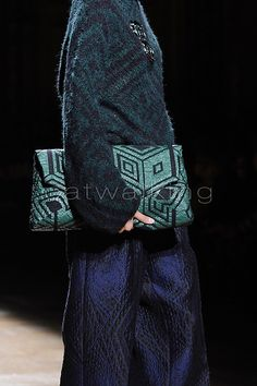 Dries Van Noten printed textures