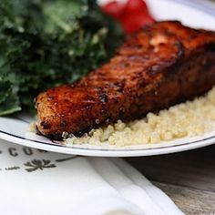Load Up on Omega-3s With This Easy Salmon Recipe #healthyeating