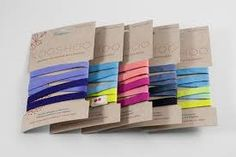 These are organic cotton and natural rubber head bands that have been hand died (ombre).  I helped choose these colours for the company Kooshoo.