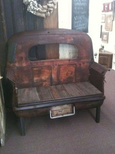 1941 Studebaker Truck Bed Bench by Sheri Dee Slagle
