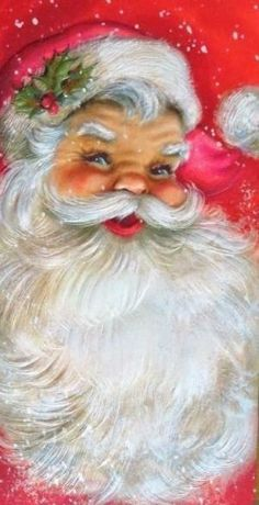 Vintage Vater Weihnachten Source by Christmas Scenes, Noel Christmas, Retro Christmas, Winter Christmas, Christmas Crafts, Christmas Decorations, Father Christmas, Christmas Mantles, Xmas