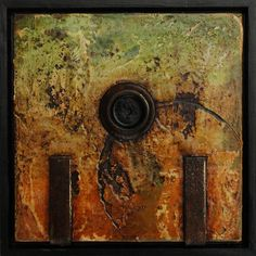 Small Encaustic Assemblages No1