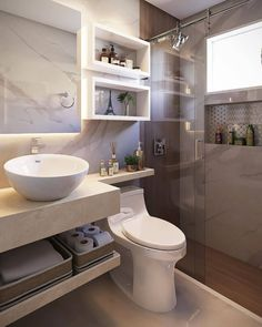 Washroom Design, Toilet Design, Bathroom Design Luxury, Modern Bathroom Design, Bad Inspiration, Bathroom Inspiration, Bathroom Ideas, Small Bathroom Interior, Small Bathroom Layout
