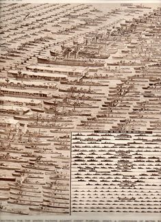 Quiet Images of Great Loss and Heroism–British Navy Losses, 1945  An image of all the ships lost by Great Britain during WW2.  Sobering.