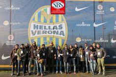 La #Xedizione del #mastersbs allo Stadio Bentegodi, ospite di #hellas verona. #masterinsport #walkabout #experience