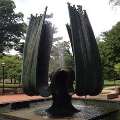 Marshall University Memorial Fountain, MU Campus, Huntington, West Virginia
