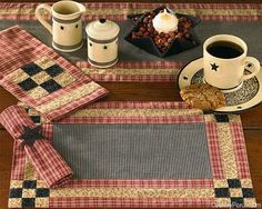 Park Designs Heather's Quilt Kitchen Decorating Theme