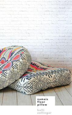 names floor pillow – holli zollinger