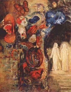 "Odilon Redon ""Apparition"""
