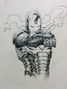 ironman sketch by kotian82