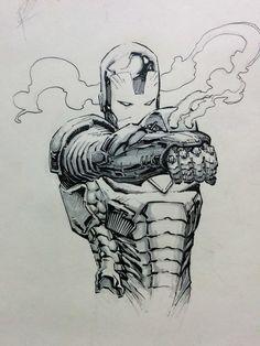 ironman sketch by kotian82