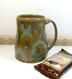 Coffee Cup Unique Coffee Mug Handmade Mug Unique by flyingpignc