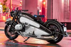 Looking for a BMW cafe racer? Our cafe racer archives feature everything from classic R and K series examples through to modern bikes like the R Nine T. Vintage Motorcycles, Custom Motorcycles, Custom Bikes, Custom Bmw, Moto Design, Bike Design, Honda Cb1100, Suv Bmw, Biker