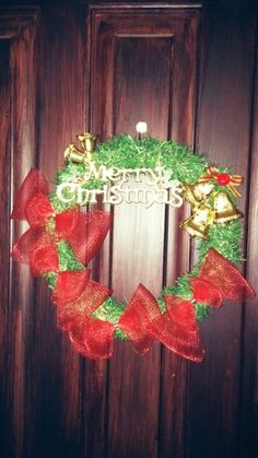 Merry Christmas Door Decorate