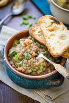 Vegan Bavarian Lentil Soup