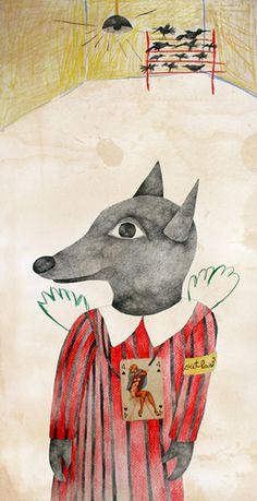 Angel Card Wolf