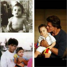 AbRam is a copy of SRK, say fans   PINKVILLA