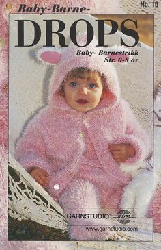 Did you know there are over 200 DROPS catalogues filled with thousands of free knitting patterns and crochet patterns for the whole family? Baby Knitting Patterns, Baby Sweater Knitting Pattern, Free Knitting, Crochet Patterns, Drops Design, Baby Set, Drops Karisma, Knitted Baby Outfits, Drops Alpaca