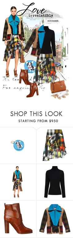 """""""November 12"""" by anny951 ❤ liked on Polyvore featuring moda, Anna Smith, Preen, Ralph Lauren Collection y MICHAEL Michael Kors"""