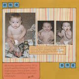 Learning how to make a baby scrapbook doesn't have to be difficult.