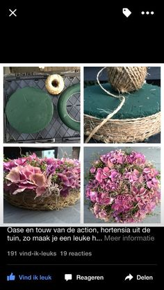 Discover thousands of images about Table Floral DIY - tray to hold cactus Flower Crafts, Diy Flowers, Fresh Flowers, Flower Decorations, Paper Flowers, Beautiful Flowers, Deco Floral, Arte Floral, Floral Design