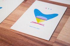 Vitra - Postcard by Mira Benjamin, via Behance