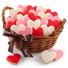 Valentine's Day Cookie Basket
