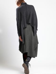 Knit Wool Jacket by LURDES BERGADA