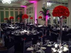 wedding reception black and white - Google Search
