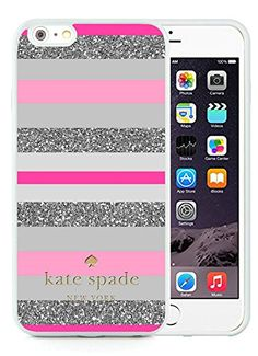 Most Popular Custom iPhone 6plus Case Kate Spade New York Silicone TPU Phone Case For iPhone 6plus 5.5 Cover Case 164 White
