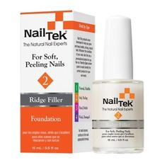 Nail Tek- Foundation II Base Coat- Ridge-Filling Nail Strengthener- For Strong Healthy Nails- .5oz * You can find more details by visiting the affiliate link Amazon.com.
