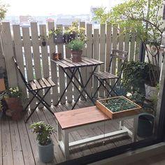 Porches, Outdoor Furniture Sets, Outdoor Decor, Minimalist Home, Dream Life, Parisian, Illustration, Cottage, Display