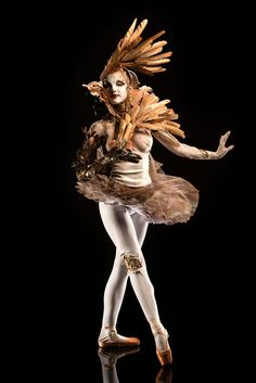Face Off Season 5 Finale – Tate's take on Odette from Swan Lake in the time period of the Industrial Revolution