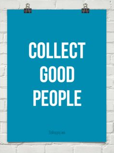 Collect  good people #202510