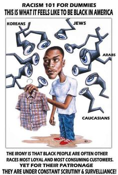 You cant tell  others how another race feels unless you have actually walked and lived in their skin.