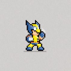 8-bit Wolverine
