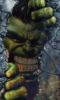 Hulk coming through! Hulk Marvel, Hulk Comic, Hulk Avengers, Marvel Art, Marvel Heroes, Marvel Comics, Ms Marvel, Batman Wallpaper, Skull Wallpaper