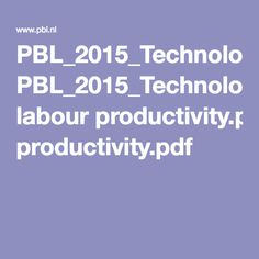 PBL_2015_Technology-globalisation-future-of-work_Projecting labour productivity.pdf