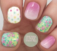 Dots, Flowers and Ombre.