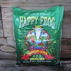Happy Frog Organic Lawn Fertilizer 8-2-6 18 lb bag