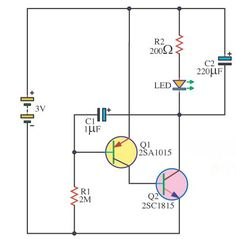 One  circuit is a two-lead semiconductor light source,It is a p–n junction diode, which emits light when activated. Led Diy, Circuits, Physique, Computers, Gadgets, Technology, Logo, Spiderman, Blue Prints