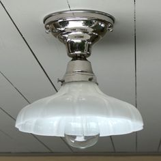 Vintage / Antique style flush mount polished by vintageHome101