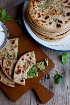 Broccoli Paratha Recipe- I've never made prarathas before, any advice on the rolling them flat once filled? That's the only part of the recipe that has me concerned.