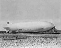 History in pictures of the zeppelin Hindenburg.