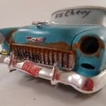 Classic Wrecks, Scale Models of Vehicles Made Into Rusty Junkers