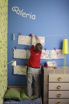 Pokój dla chłopca - kreatywny i niebanalny. Zobacz, jak urządzić pokój chłopca Boys Car Bedroom, Boy Room, Kids Room, Children, Diy, House, Inspiration, Furniture, Interiors