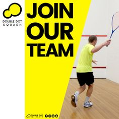Become a Double Dot Squash Ambassador, Coach, or Athlete. Join our team! - Please get in touch for further details on joining our team - info@doubledotsquash.com - #doubledotsquash #squash #brownsbayracquetsclub #hernebayracketsclub #brownsbay #hernebay #squashauckland #squashnz #squashnewzealand #squashcoaching #squashcoach #juniorsquash #psaworldtour #lovesquash #squashclub #squashcourt #squashies #squashplayer #squashgoals #squashlife #squashing #squashaddict #squashing #juniorsquash Squash Club, Train Group, Double Dot, Join Our Team, Ways Of Learning, Core Values, Best Player, Looking Forward To Seeing, Total Body